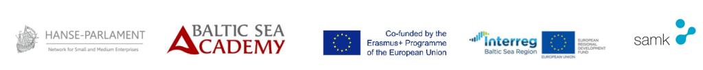kuvassa ovat hankkeisiin osallistuvien tahojen logot