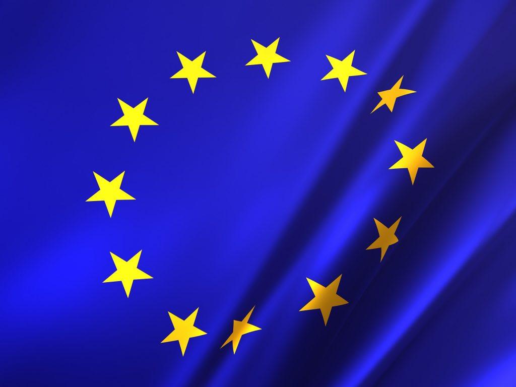 Euroopan unionin lippu.