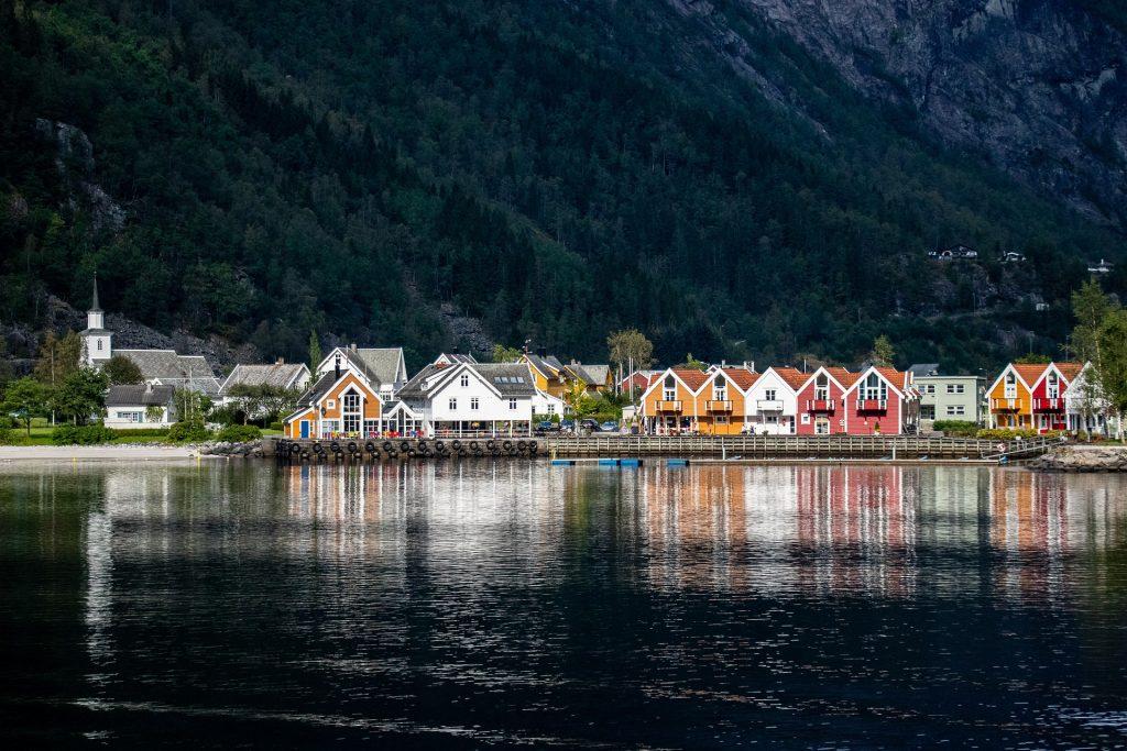Norjalainen kylä