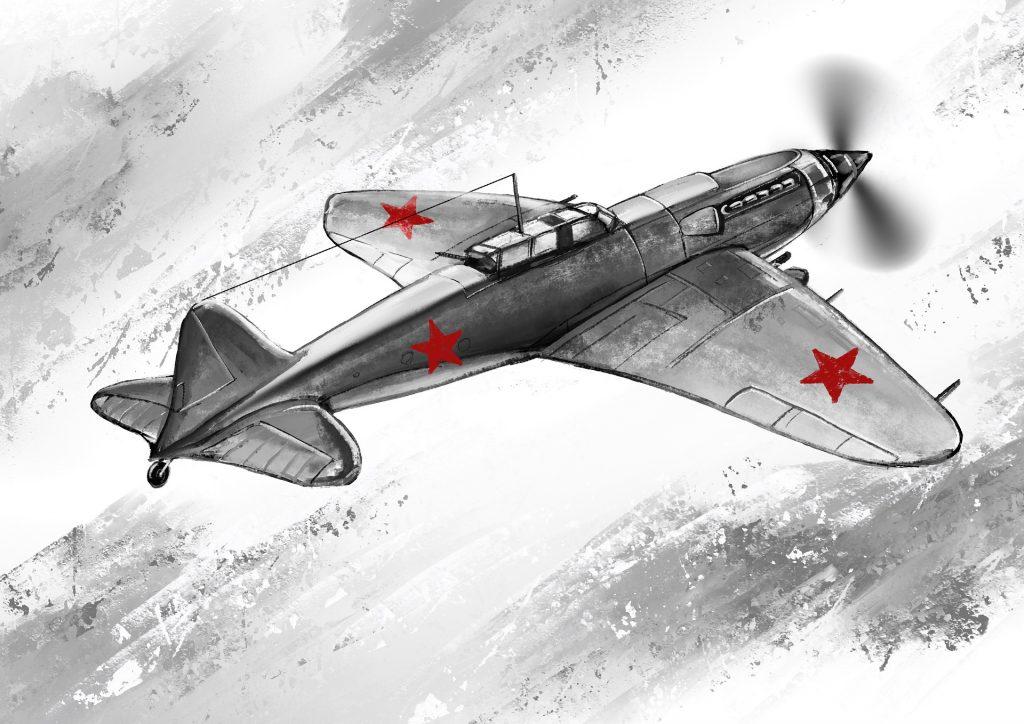 Neuvostoliittolainen kone Helsingin yllä