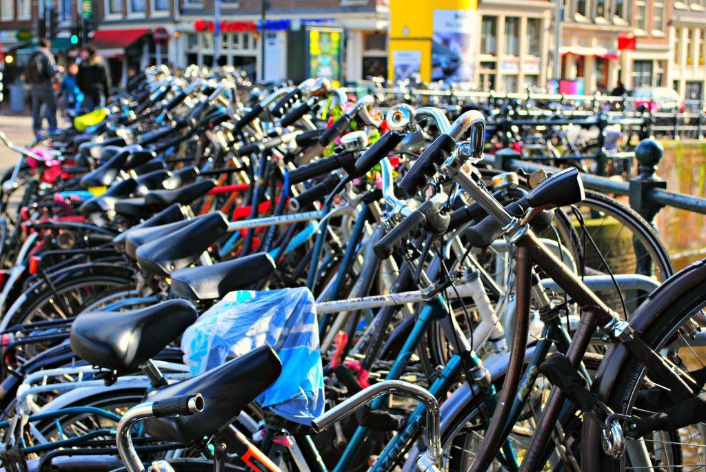 Polkupyörä on ekologinen liikkumistapa.